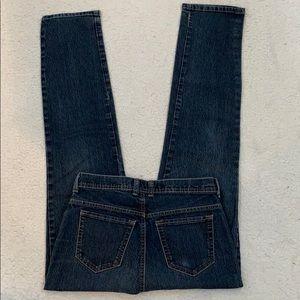 Gloria Vanderbilt Straight Leg Jeans  Size 8 Long
